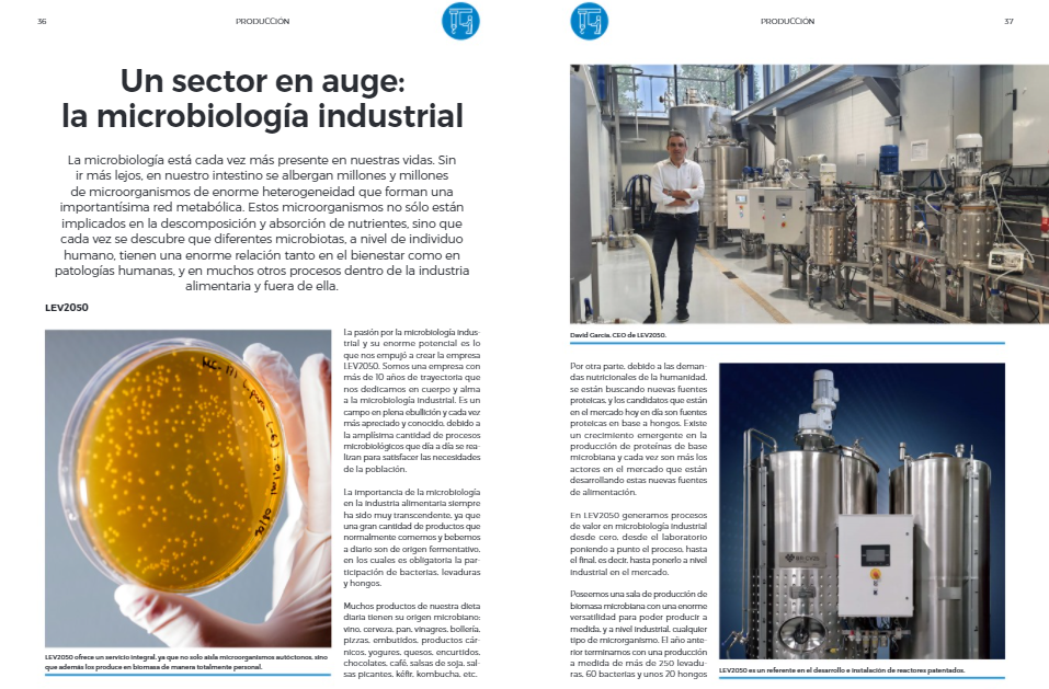 A rising sector: industrial microbiology (iFood)