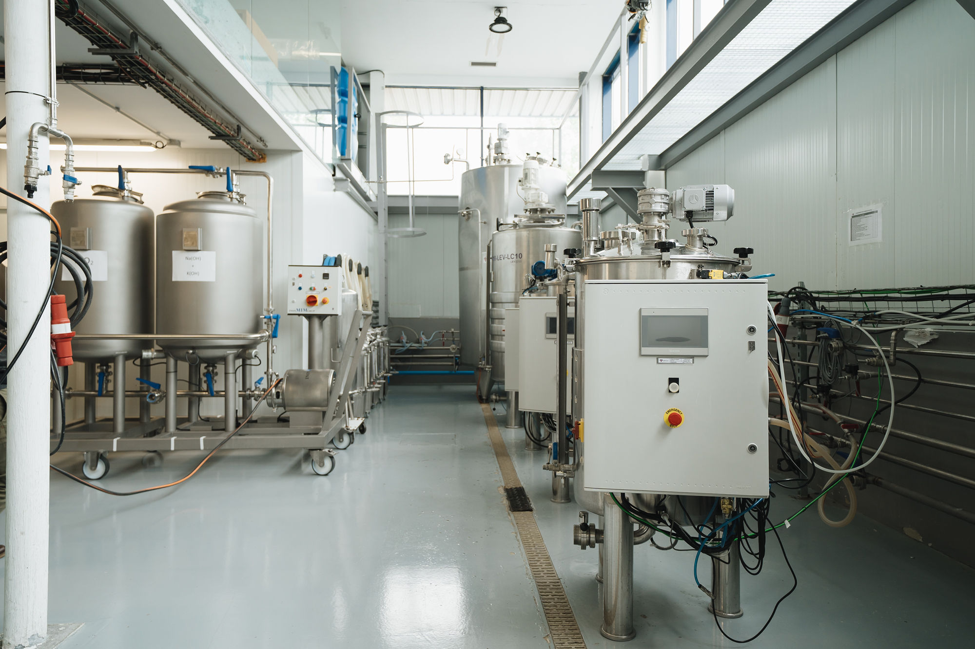 Biomass production plant of LEV2050