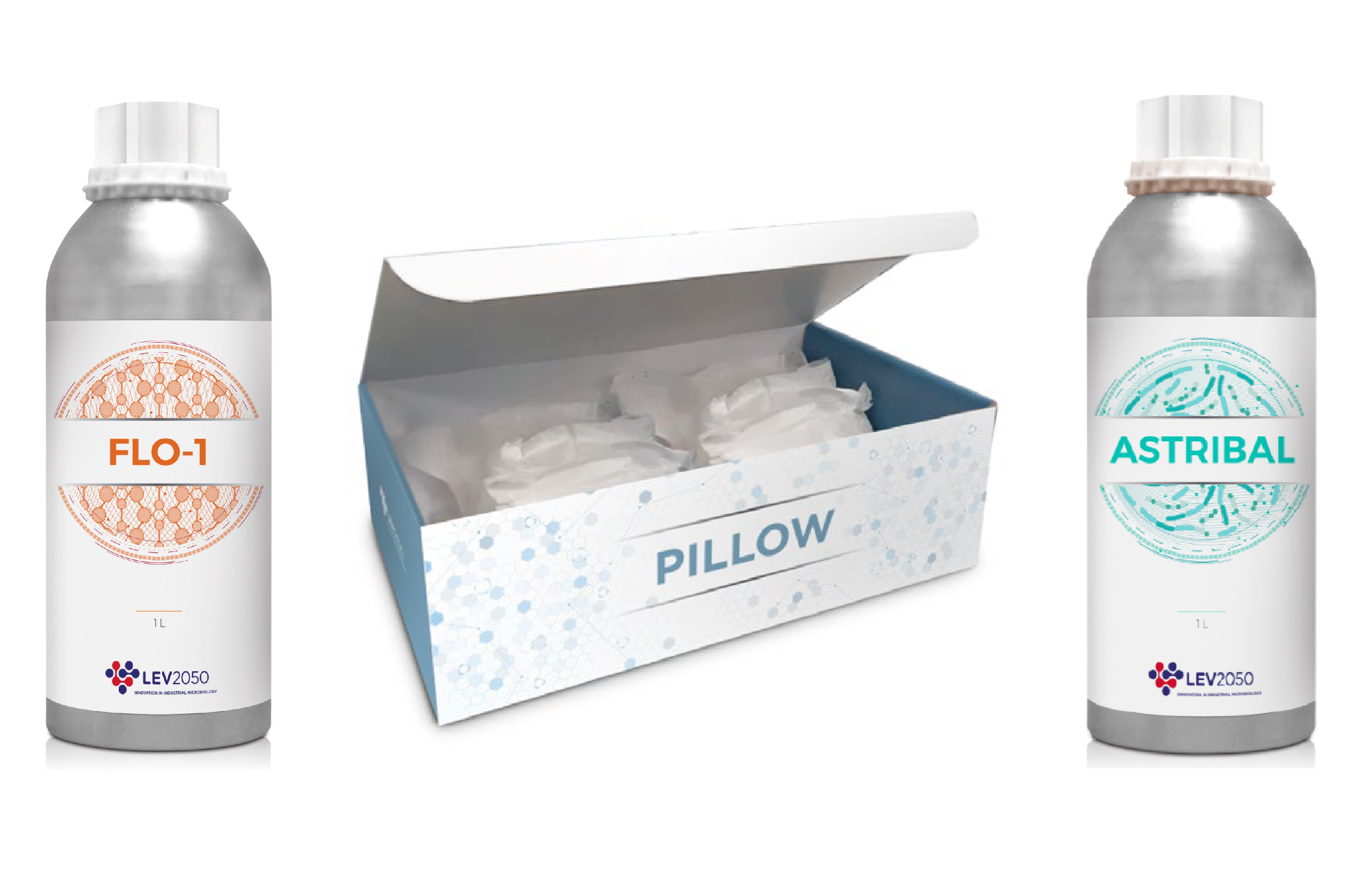 Oenological products: FLO-1, PILLOW and ASTRIBAL